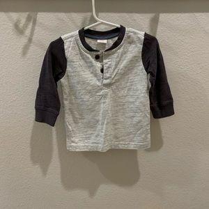Gymboree 12 to 18 months 3/4 sleeve shirt boys